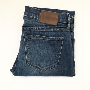 ** J Crew ** selvedge toothpick cut denim jeans
